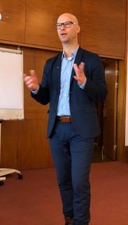 Christian Widlund, Region Östergötland ger en redovisning av Ostlänkens betydelse för Östergötland.